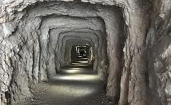 Ledová jeskyně Eisriesenwelt - cesta k parkovišti