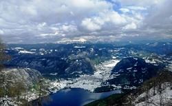 Opět pohled ze Ski Vogel