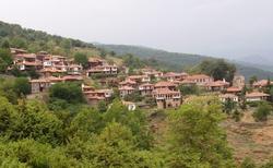 A vesnice ve svahu