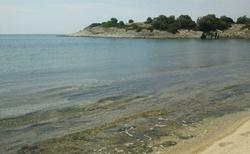 Pláž poblíž Neos Marmaras