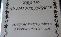 Krakov - Kramy Dominikanskie