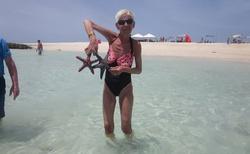 lovení hvězdic na ostrově lásky
